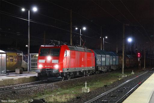 185 033 mit GM 49202 Senftenberg B 7 - Woippy/F (Lens), Forbach 16.01.2018