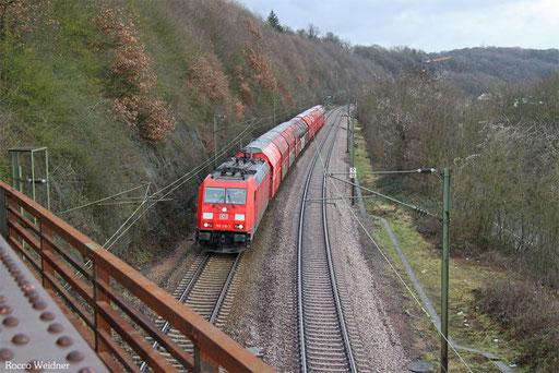185 210 mit GM 60439 Auersmacher - Dillingen Zentralkokerei, Völklingen 30.12.2017