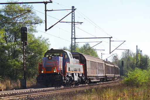 261 305 mit DGS 59824 Neunkirchen(Saar) Hbf - Saarbrücken Rbf Nord (Sdl.), Neunkirchen-Sinnerthal 29.09.2016