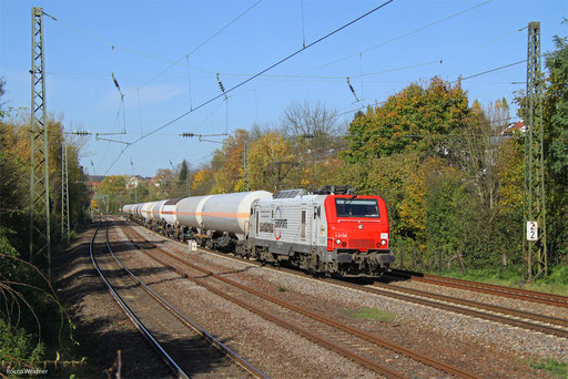 BB37505 mit DGS 91059 Forbach/F - Marl Hüls (Sdl.), Saarbrücken 01.11.2017
