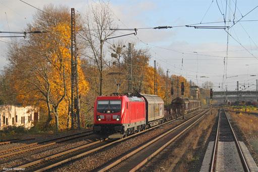 187 106 mit EZ 51053 Maschen Rbf Mswf - Mannheim Rbf Gr.K, Frankfurt Ost Gbf 19.11.2017