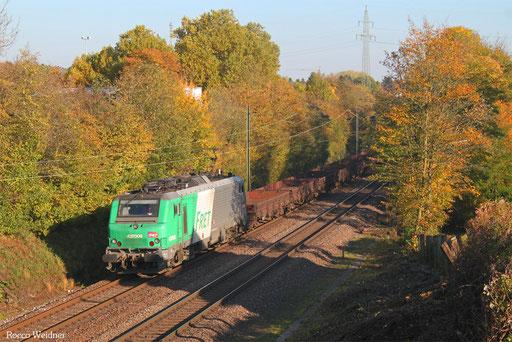 BB37008 mit DGS 44257 Thionville/F - Dillingen Hochofen Hütte, Altenkessel 15.10.2017