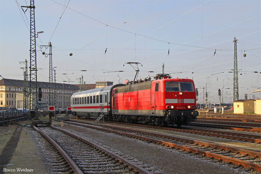 181 215, Saarbrücken Hbf 01.12.2016