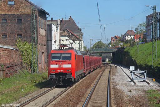 152 151 mit EZ 51918 Mannheim Rbf Gr.G - Saarbrücken Rbf Nord, Neustadt(W) 10.05.2017