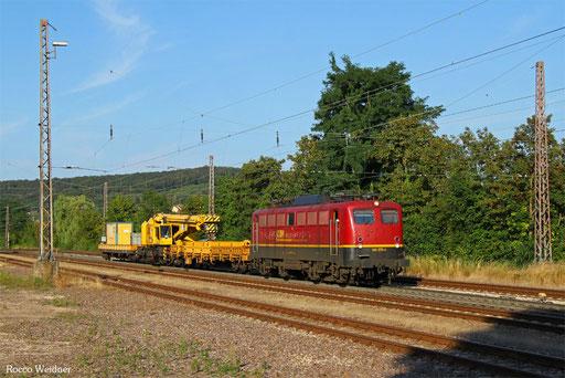 140 070 mit DGS 62139 Regensburg Hbf - Dillingen(Saar) (Sdl.), Dudweiler 15.08.2016