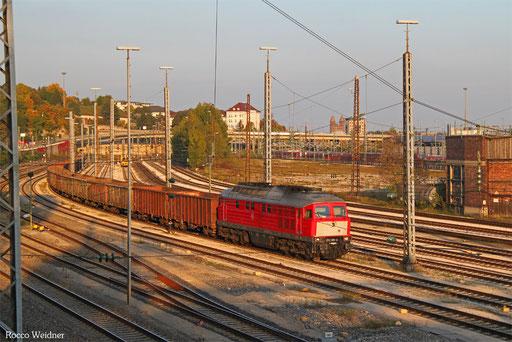 232 201 mit GB 49183 (Frauenfeld/CH) Lindau-Reutin - München Nord Rbf E (Deggendorf Hafen) (Sdl. leere Eao), Ulm Rbf 27.09.2017