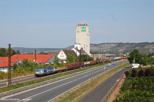 193 881 mit DGS 41193 Mühlenwerder - Passau Grenze (Sdl.)