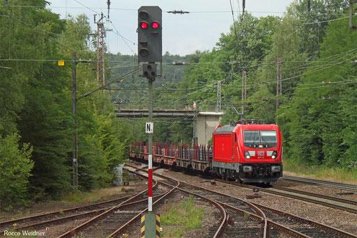 187 113 mit GM 60423 Völklingen - Neunkirchen(Saar) Hbf, Landsweiler-Reden 14.07.2017
