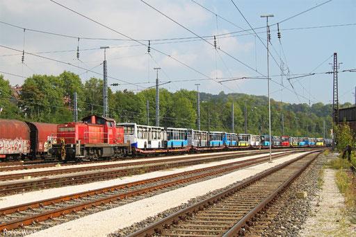 294 875 mit EK 55461 Neu-Ulm - Ulm Rbf, 23.09.2017