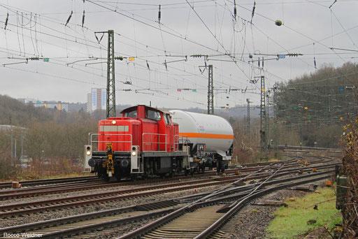 294 648 mit EK 55380 Fürstenhausen - Saarbrücken Rbf Nord (Sdl.Ammoniak), 08.12.2017