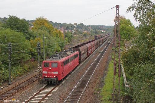 151 086 mit GM 49464 Neunkirchen(Saar) Hbf - Oberhausen West Orm, Sulzbach(Saar) 08.10.2013