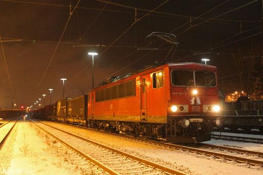 155 197 mit GA 60145 Braunschweig Rbf - Einsiedlerhof, 09.02.13