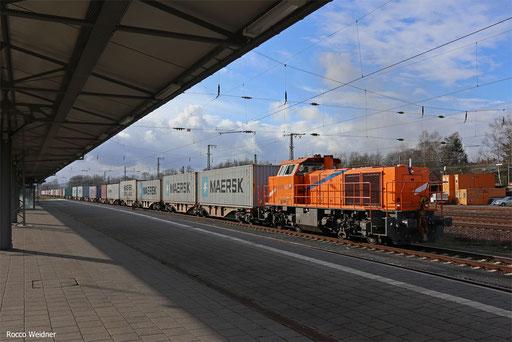 271 001 mit DGS 95261 Homburg(Saar) Hbf - Mainz Gbf, 19.01.2018