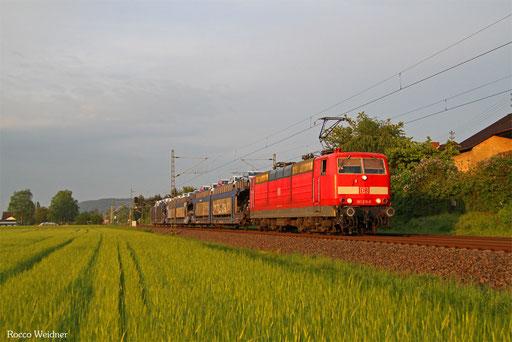 181 215 mit XP 49246 Einsiedlerhof - Cerbere/F, Vogelbach 13.05.2016