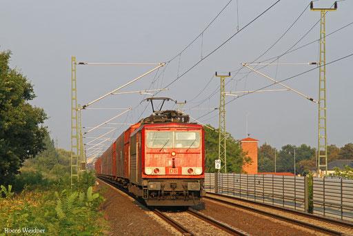 155 060 mit GA 48435 Eisenach Gbf  - Gliwice Labedy/PL, Falkenberg(Elster)  14.09.2016