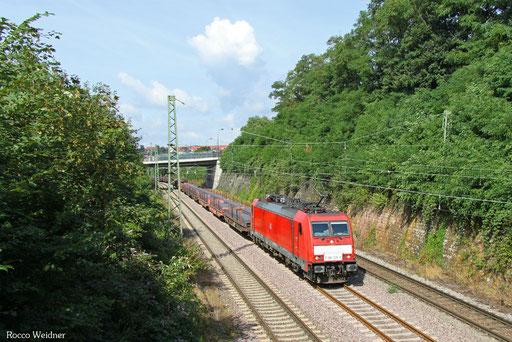 186 338 mit GM 60434 Völklingen - Neunkirchen(Saar) Hbf, Saarbrücken 11.08.2016