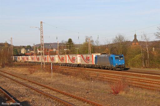 185 529 mit 41564 DGS München-Laim Rbf - Bettembourg/L, Sulzbach(Saar) 26.03.2017