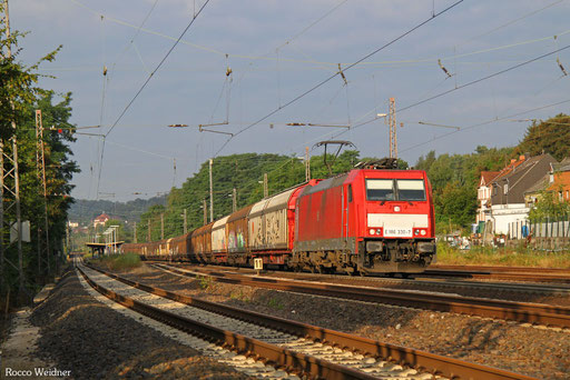 186 330 mit EZ 44235 Vaires-Torcy/F - Mannheim Rbf Gr.M, Dudweiler 06.08.2016