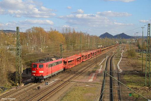 151 126 mit EZ 68195 Saarbrücken Rbf West - Dillingen Ford, Bous 14.03.2018