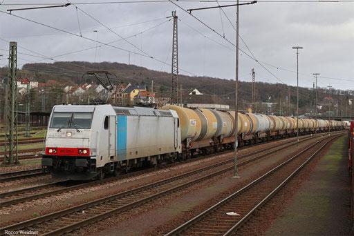 185 638 mit DGS 45194 Passau Hbf - Saarbrücken Rbf Nord (Sdl.), Neunkirchen(Saar) 03.01.2018
