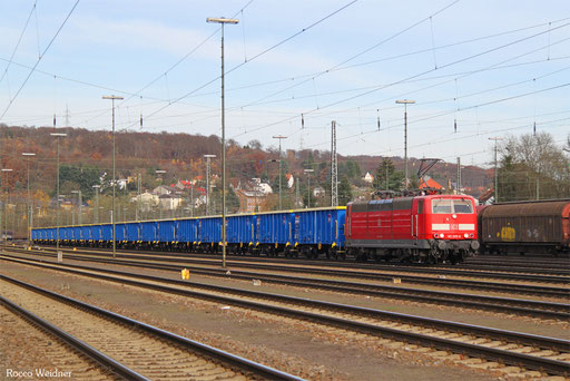 181 205 mit GC 44396 (Ceska Trebova) Decin vychod/CZ - Forbach/F (Metz Sablon) (Sdl. NHM 8606), Saarbrücken Rbf 24.11.2016