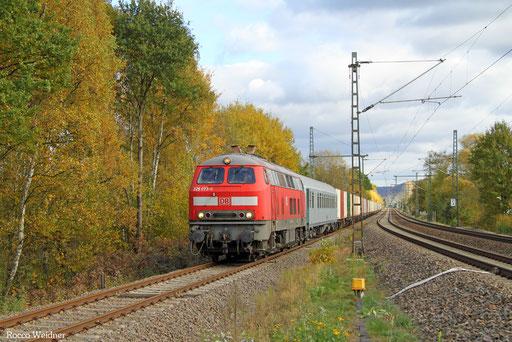 225 073 mit M 62656 Nordenham - Hauptstuhl (Sdl.), 02.11.2016