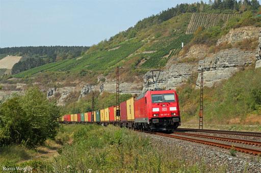 185 297 mit KT 42931 Weddewarder Tief - Passau Grenze (Wien Freudenau H)