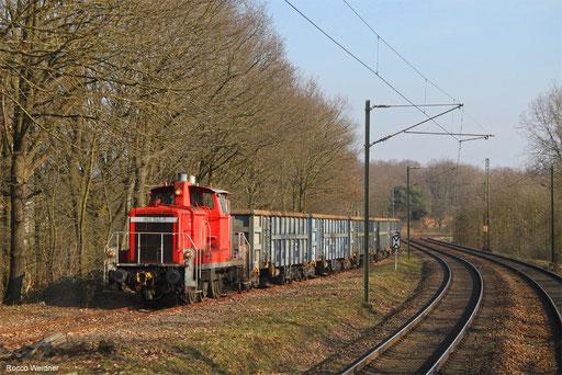 362 941 mit Leerwagenzuführung SRP Homburg (Saar), 28.02.2018