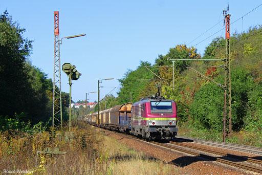 BB37027 mit DGS 69471 Brake(Unterwesser) - Neunkirchen(Saar) Hbf, Neunkirchen-Sinnerthal 29.09.2016