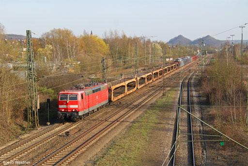 181 205 mit EK 55439 Saarbrücken Rbf West - Dillingen Ford, Bous