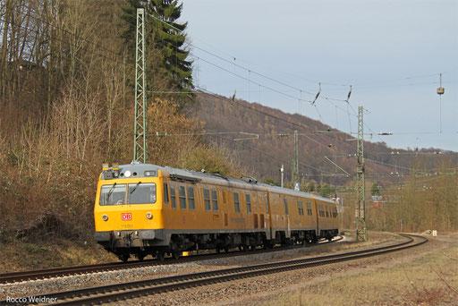 719 001 als NbZ 94370 Fulda - Saarbrücken Hbf (Sdl.), Scheidt 03.03.2017
