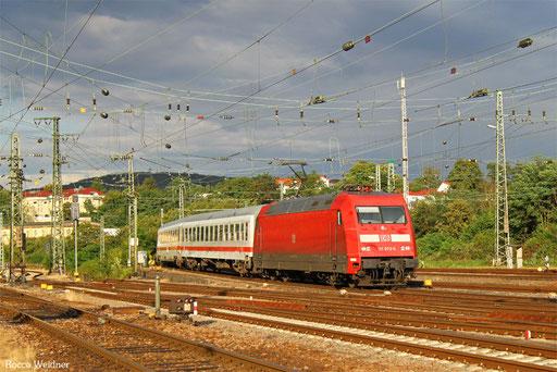 101 073 mit IC 2058 Stuttgart Hbf - Saarbrücken Hbf, 10.08.2016