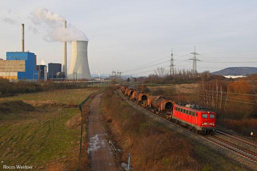 139 132 mit GM ..... Dillingen Hochofen Hütte - Völklingen, Endsdorf(Saar) 10.02.2013