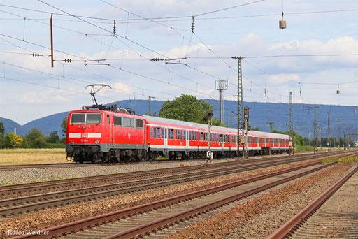 111 108 mit RB 15361 Frankfurt(Main)Hbf - Heidelberg Hbf (Nachschuss), Mannheim 10.08.2016