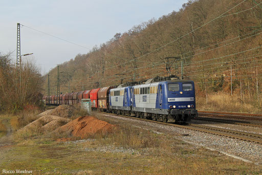 DT 151 152 + 151 024 mit GM 48745 Maasvlakte/NL - Neunkirchen(Saar) Hbf, Luisenthal(Saar) 07.12.2016