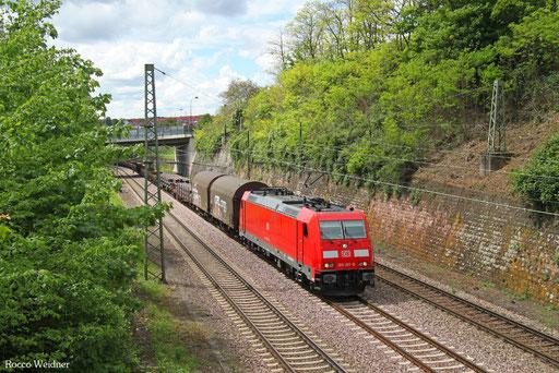 185 207 mit EZ 45663 Bettembourg/L - Gremberg Bs, Saarbrücken 13.05.2017