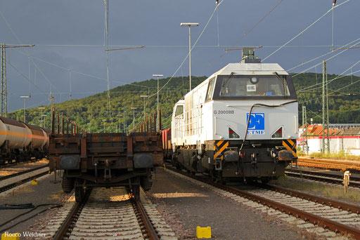 272 605 (für Überführung nach Aachen), Saarbrücken Rbf Ost 10.08.2016