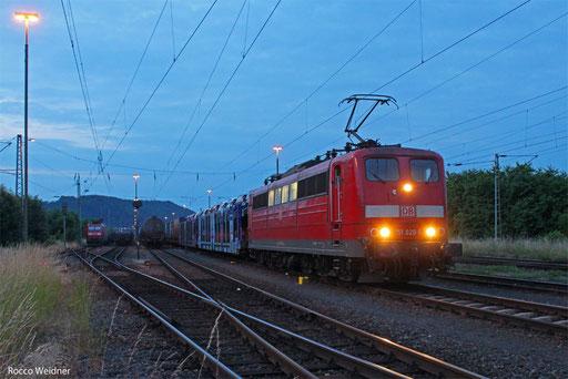 151 020 mit KT 42298 Köln-Niehl Hafen - Cerbere/F, Ehrang 26.06.,2013