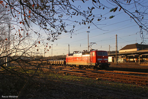 181 215 mit EK 55987 Neunkirchen(Saar) Hbf - Homburg(Saar), 02.12.13