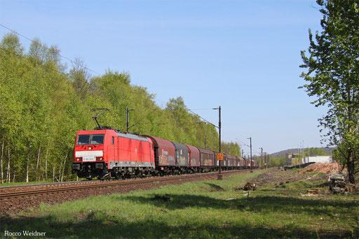 186 328 mit EZ 44220 Mannheim Rbf Gr.G - Vaires-Torcy/F, Neunkirchen(Saar) 20.04.2017