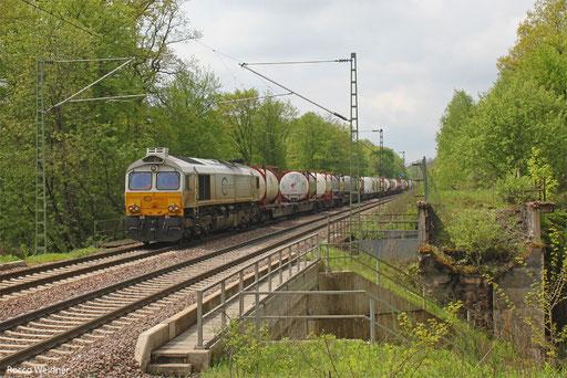 77 017 mit KT 41201 Irun/E - Ludwigshafen/Rhein BASF Ubf, Saarbrücken 07.05.2013