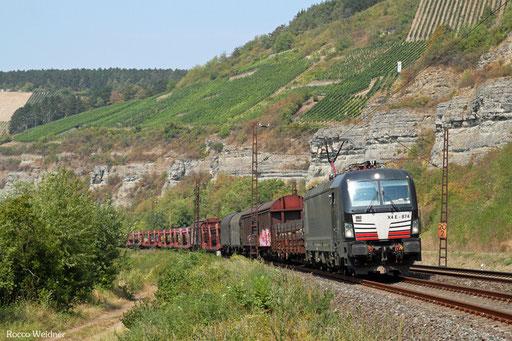 193 874 mit EZ 51889 Mannheim Rbf Gr.D - Nürnberg Rbf Einfahrt