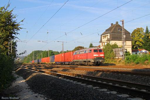 225 073 mit XP 49249 Cerbere/F - Einsiedlerhof, Dudweiler 02.09.2016