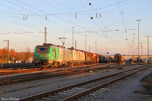 BB37015 (186 307) mit EZ 51922 Mannheim Rbf GrG - Saarbrücken Rbf Nord, 04.12.2016