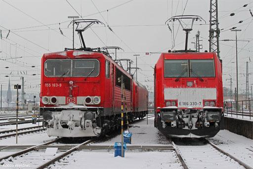 155 163 und 186 330, Saarbrücken 12.03.2013