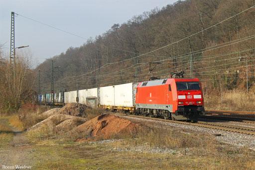 152 097 mit GA 52970 Berlin-Lichterfelde West - Saarbücken Rbf Nord, Luisenthal(Saar) 06.12.2016