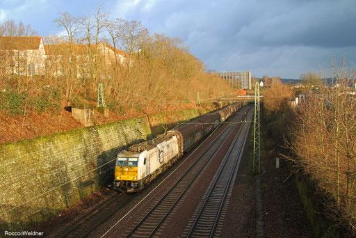 186 315 mit EZ 44222 Mannheim Rbf Gr.N - Vaires-Torcy/F, Saarbrücken 16.12.2017