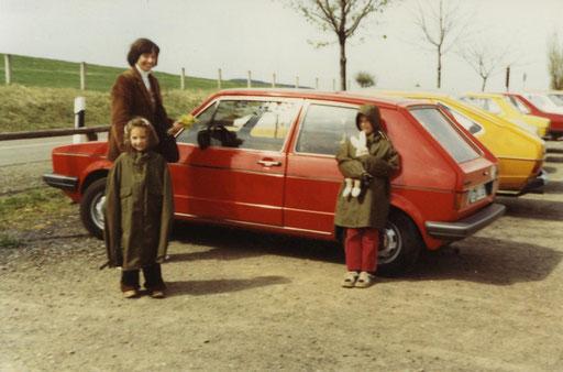 My granddad´s Golf in 1979
