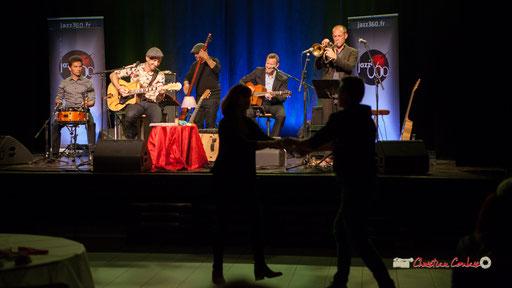 Joris Seguin, Rix, Pascal Fallot, Robin Dietrich, Jérôme Dubois; The Rix'tet, soirée club JAZZ360, Cénac. 05/10/2019