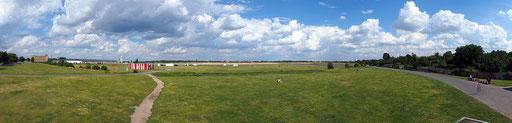 Berlin, Tempelhofer Feld, ehemaliger Flughafen Tempelhof